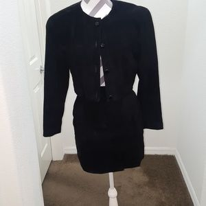 Like New never worn AnnTaylor suede suit